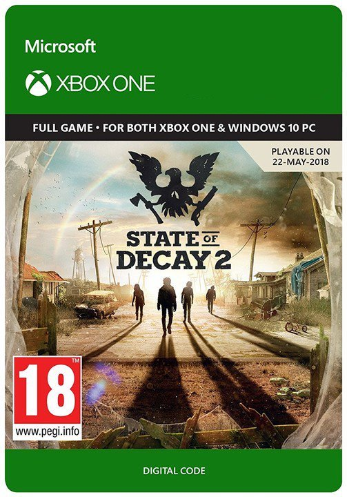State of Decay 2  | XBOX ONE | Digital Key