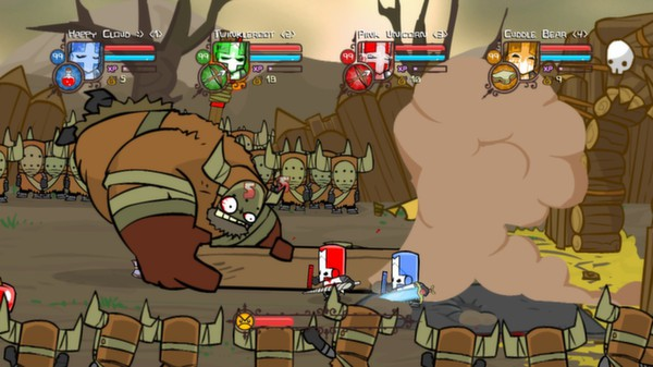 Castle Crashers (ROW - Region Free) Steam Gift