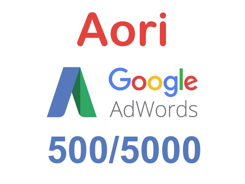 Promo Google Ads (AdWords) 500/5000 rub aori🔥 RUSSIA