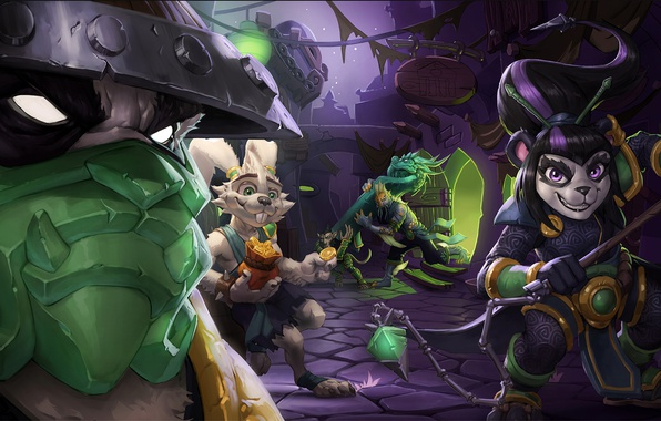 Hearthstone: Leveling Hero 1 - 10 level