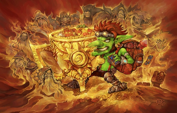 Hearthstone: Leveling  hero 10 - 20 levels.