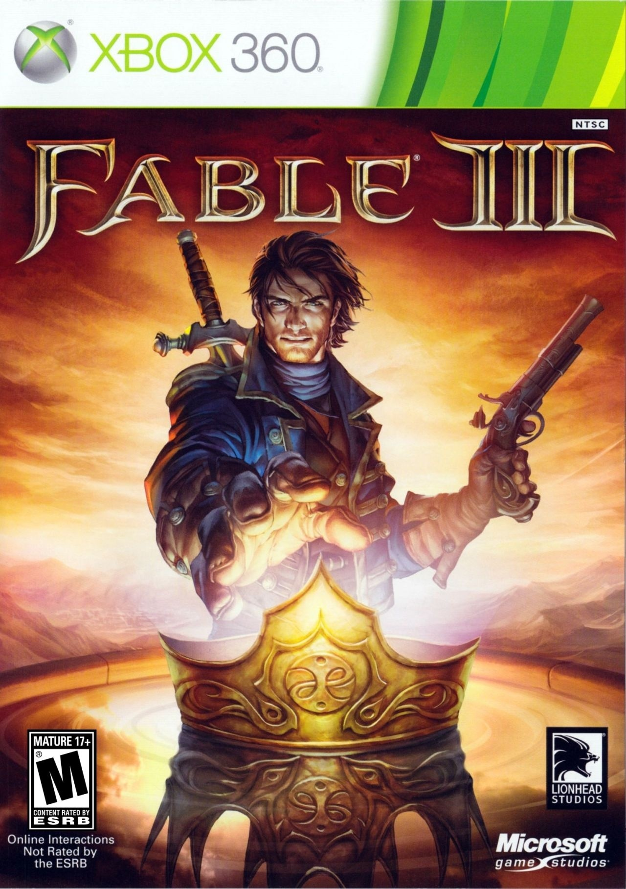Fable III (Xbox360/One) (SCAN)