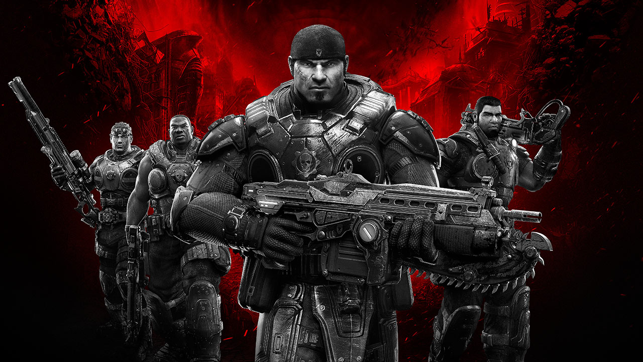 Gears of War 1 xbox360/One  (Code)