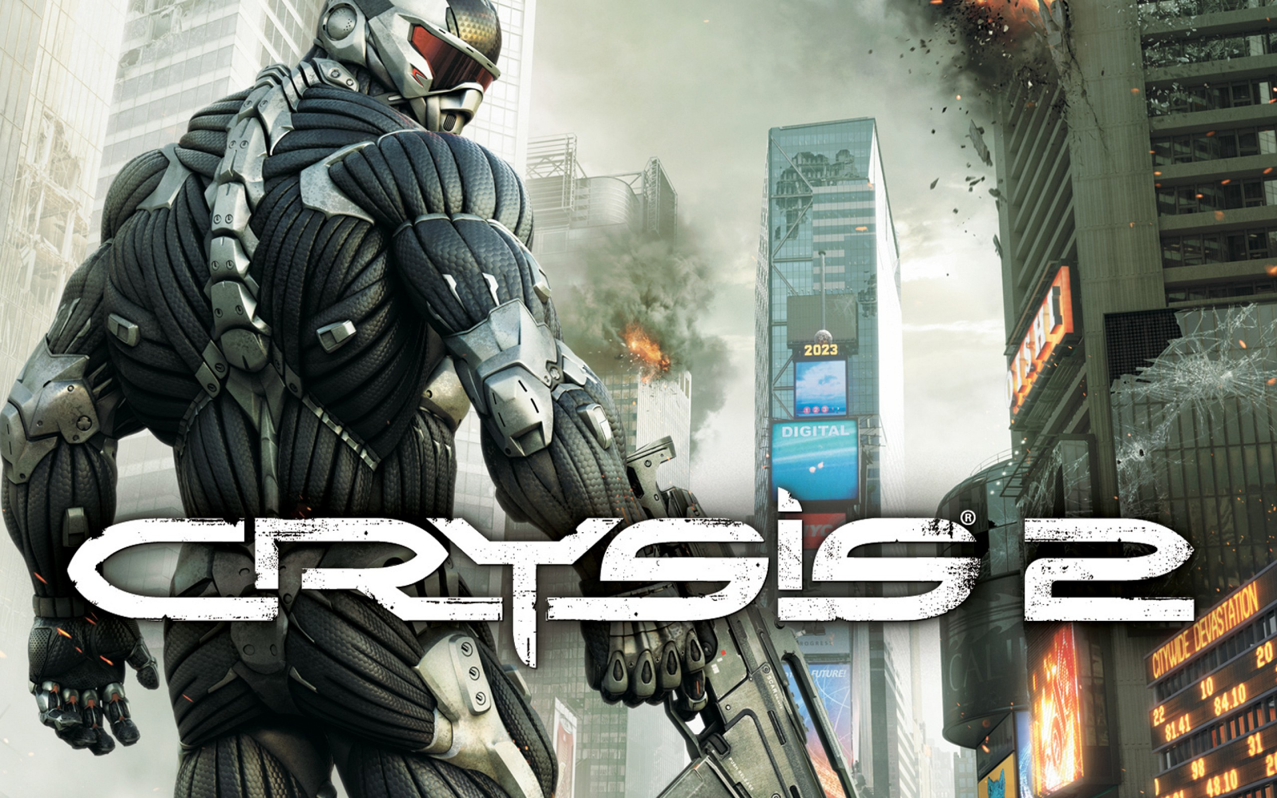 Crysis 2 for Xbox 360 (Scan)