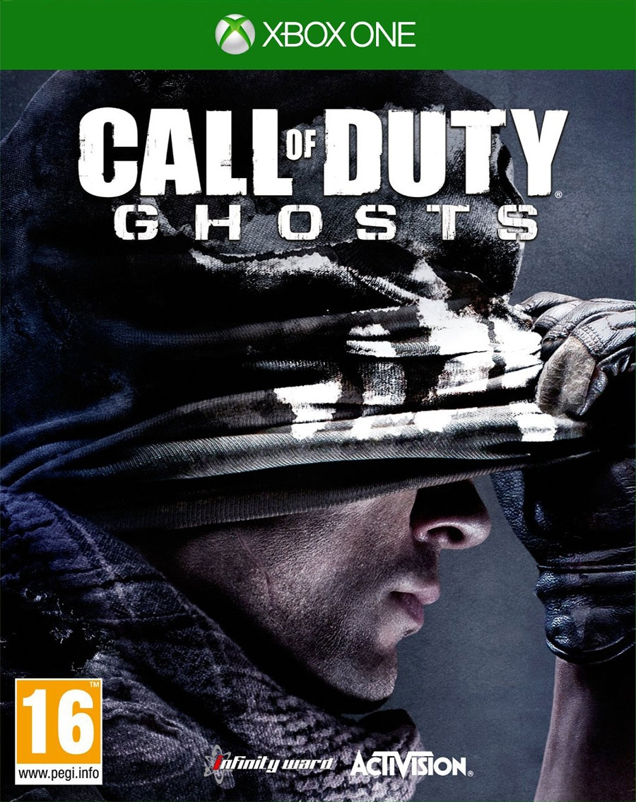 Call Of Duty: Ghosts + дополнени код активации Xbox One