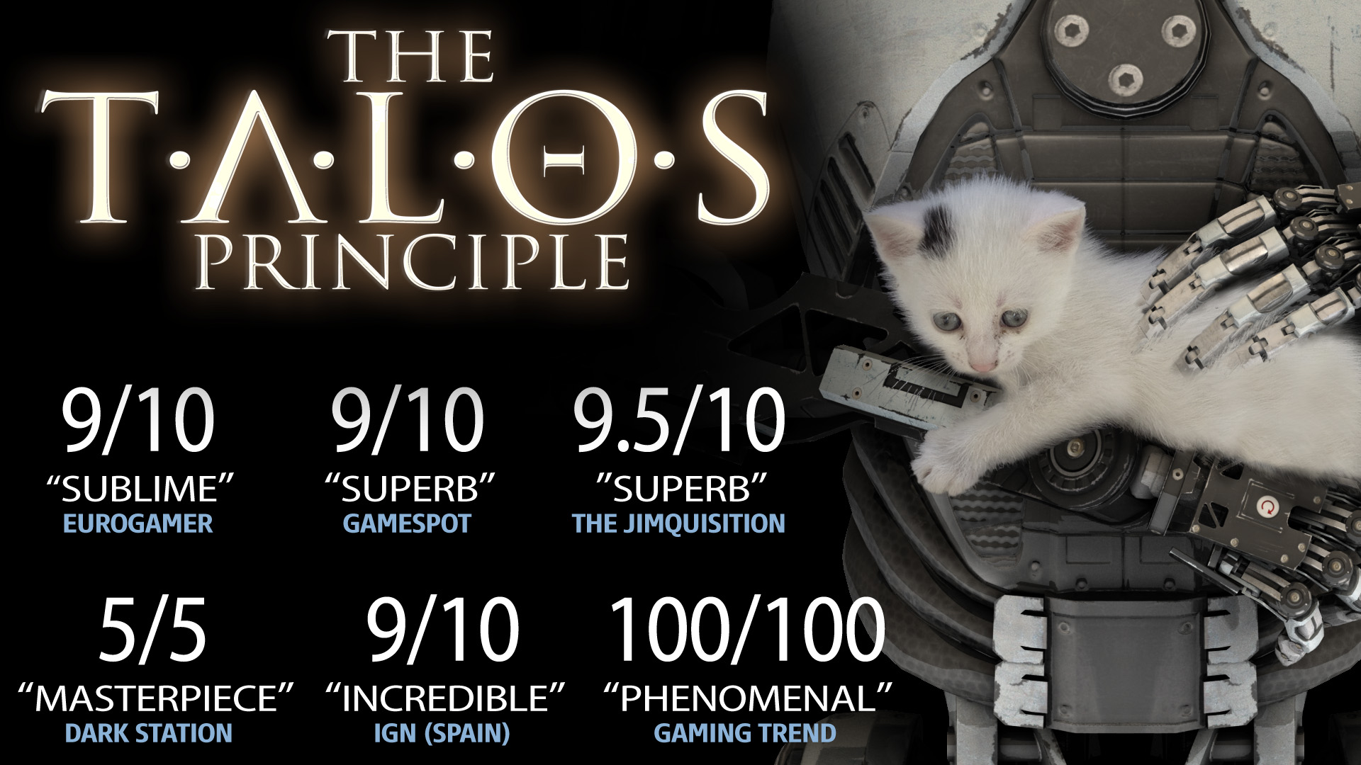 The Talos Principle Steam Gift RU/CIS + gift + discount