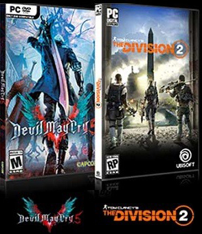 Devil May Cry 5+The Division 2 AMD region free