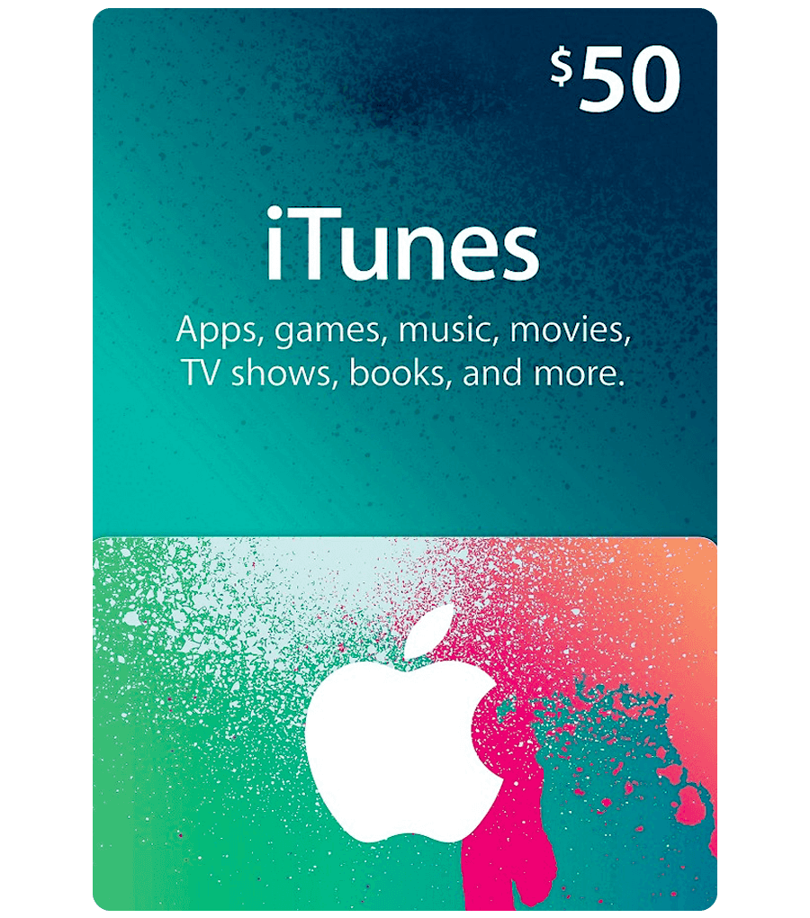 iTunes Gift Card USA 50$