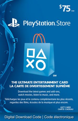 PSN 75 USD Playstation Network Card + discount