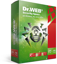 Dr.Web Security Space 1 PC 3 months + 1 mob. Reg FREE