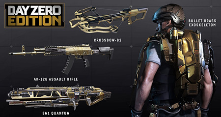 Call of Duty:Advanced Warfare Day Zero (Photo/Steam RU)