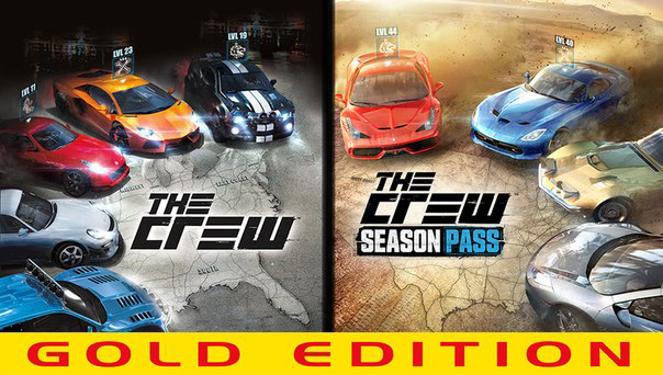 The Crew Gold Edition+Season Pass UPLAY  KEY