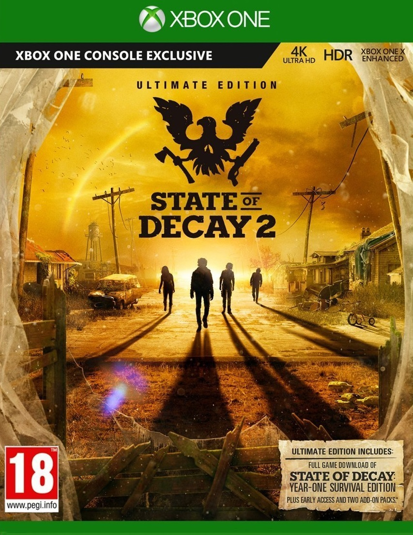 State of Decay 2: Ultimate-Edition Xbox ONE/Win10