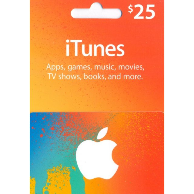 iTUNES GIFT CARD - $ 25 (USA) | up to 22% discount