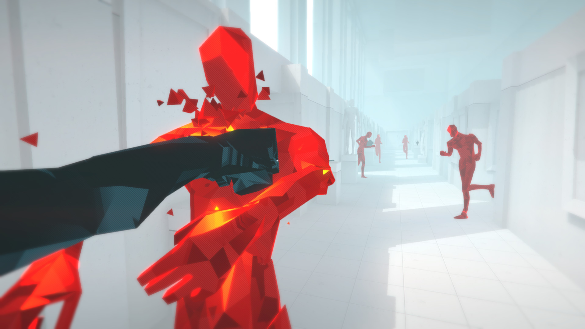Гифка игры гейминг superhot гиф картинка, скачать анимированный.