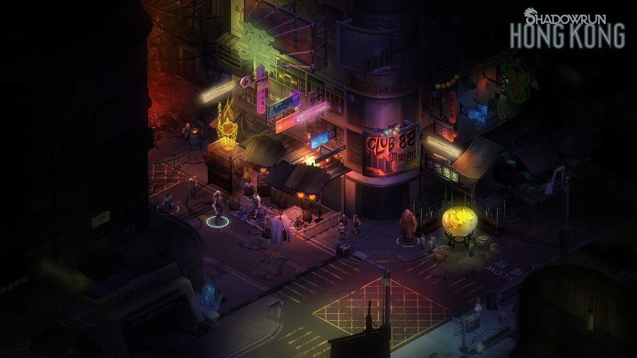 Shadowrun: Hong Kong - Deluxe Edition Steam Gift RU/CIS