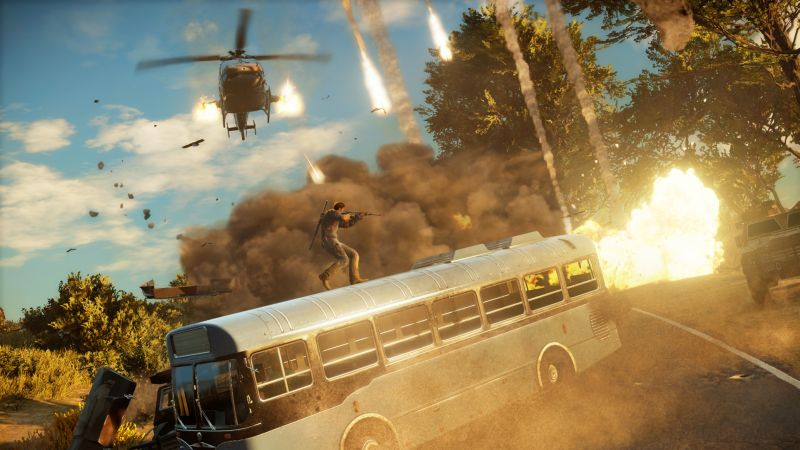 JUST CAUSE 3 (STEAM РОССИЯ)