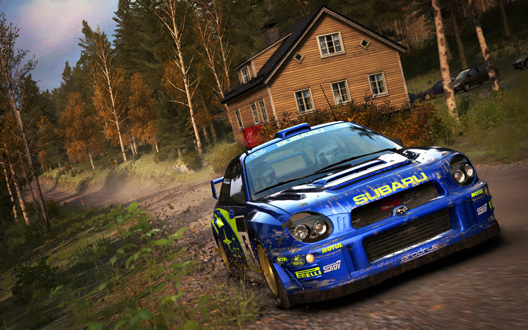 DIRT RALLY (STEAM RUSSIA)