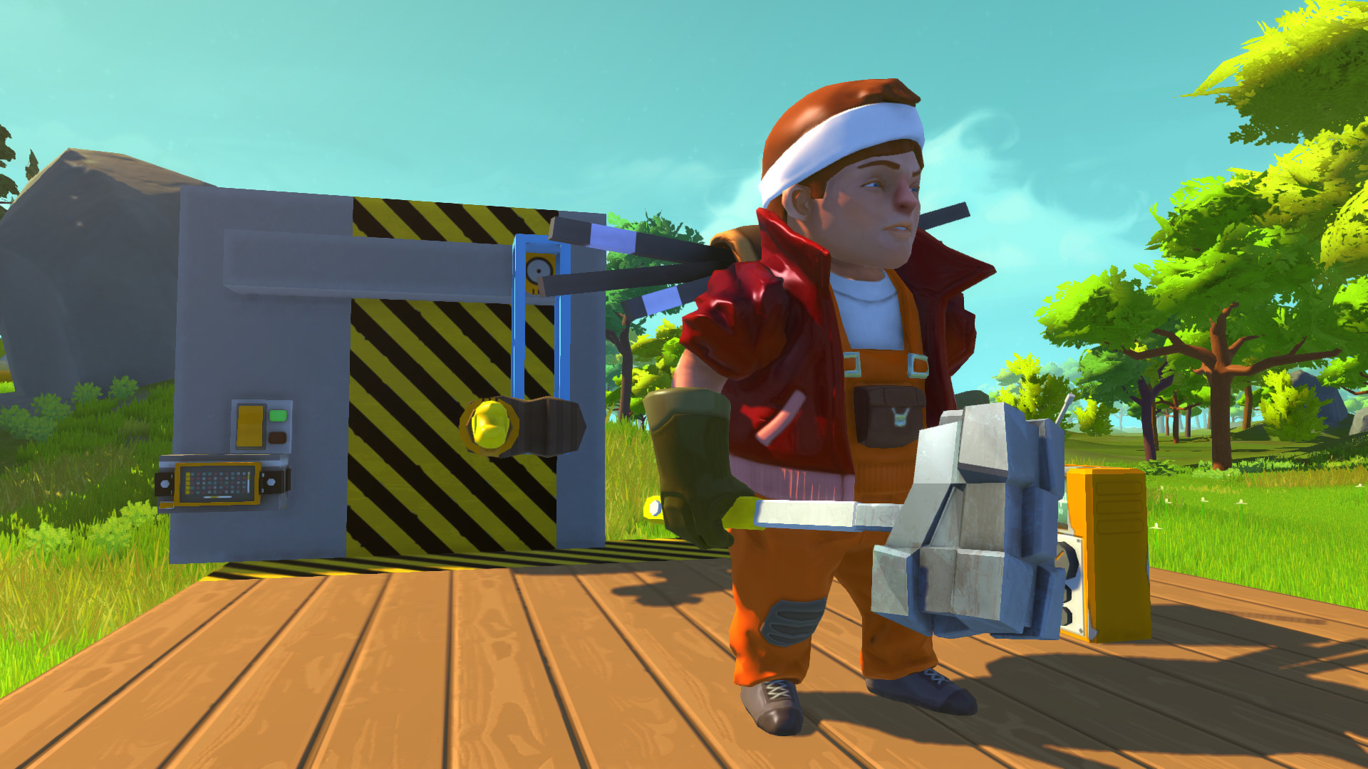 SCRAP MECHANIC (STEAM GIFT RU/CIS)