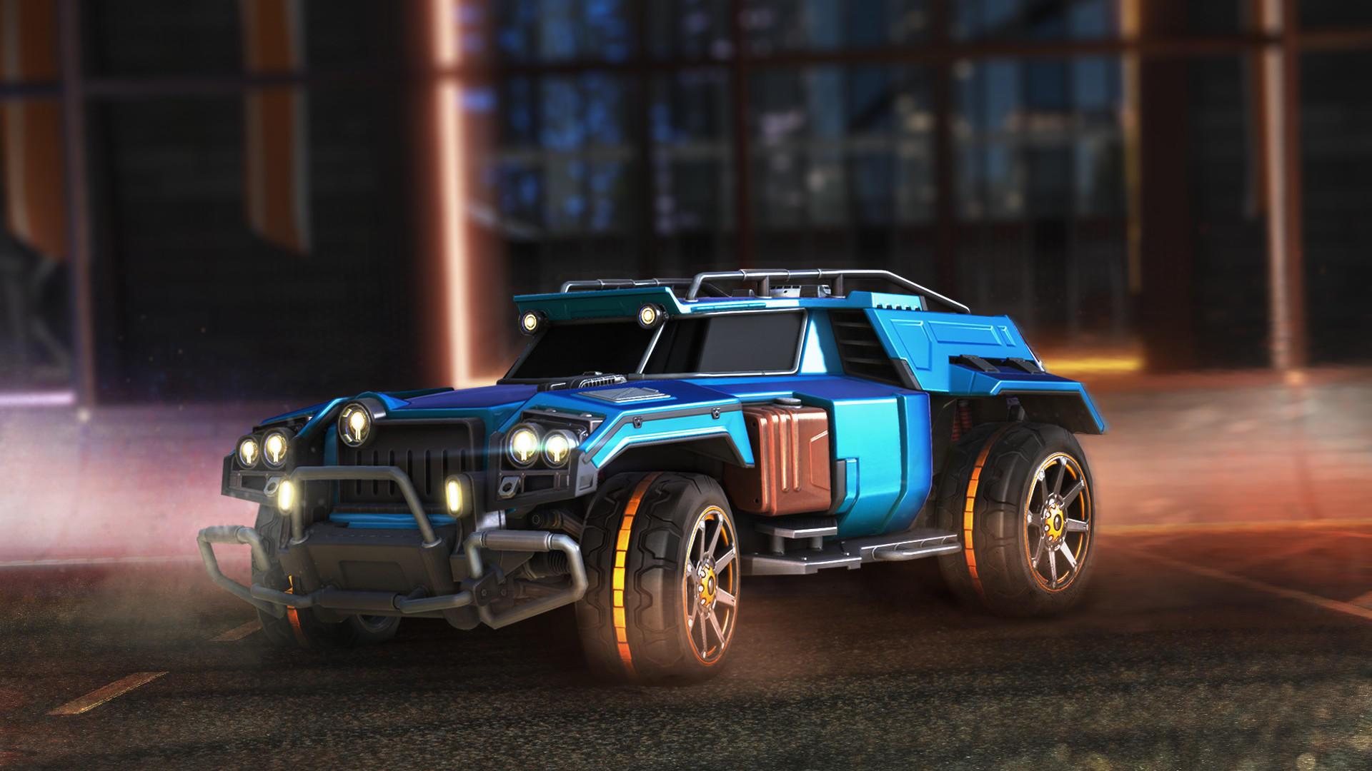 Rocket League - Marauder (STEAM GIFT RU/CIS)