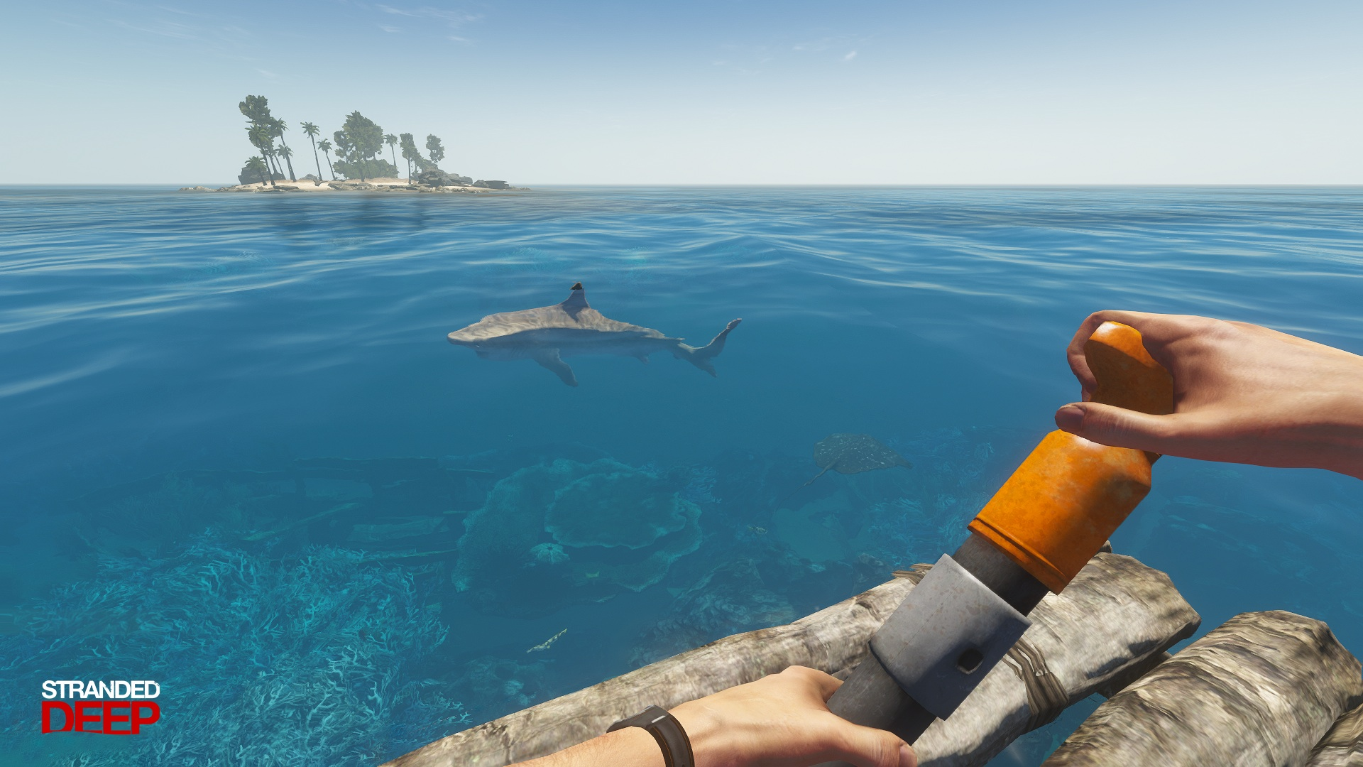STRANDED DEEP (STEAM РОССИЯ)