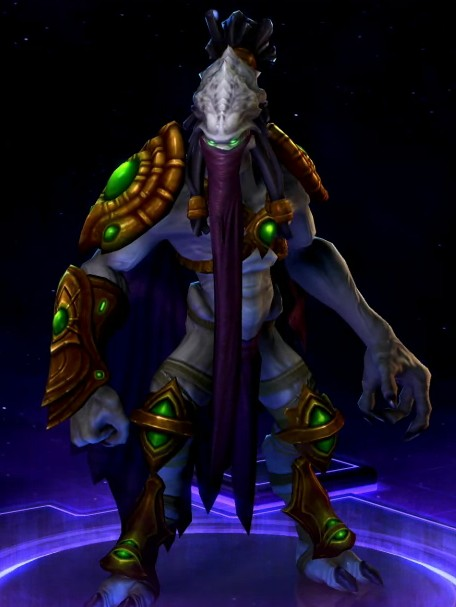 HERO —  Zeratul + SKIN - Ronin (HEROES OF THE STORM)