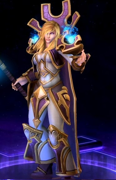 HERO — Jaina + HERO —  Sonya (HEROES OF THE STORM)