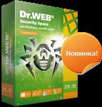 Dr.Web Security Space 2 Года 2 ПК + 2моб 1ключ REG FREE