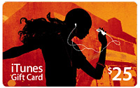 iTunes Gift Card 25 $ USA - payment card iTunes. DISCOUNTS