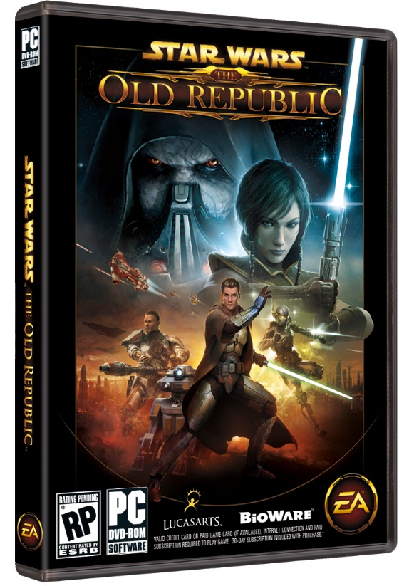 Star Wars The Old Republic SWTOR STANDARD key + 30days