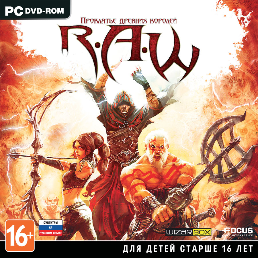 R.A.W: Realms Of Ancient War (Steam key)CIS