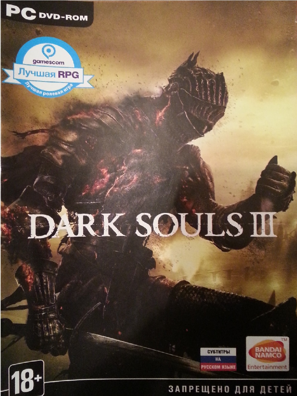 Dark Souls III (steam key) CIS RUS