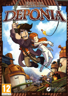 Deponia retail RU + CIS (Steam key)