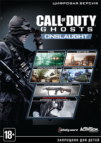Call of Duty: Ghosts. Onslaught (Steam key)CIS