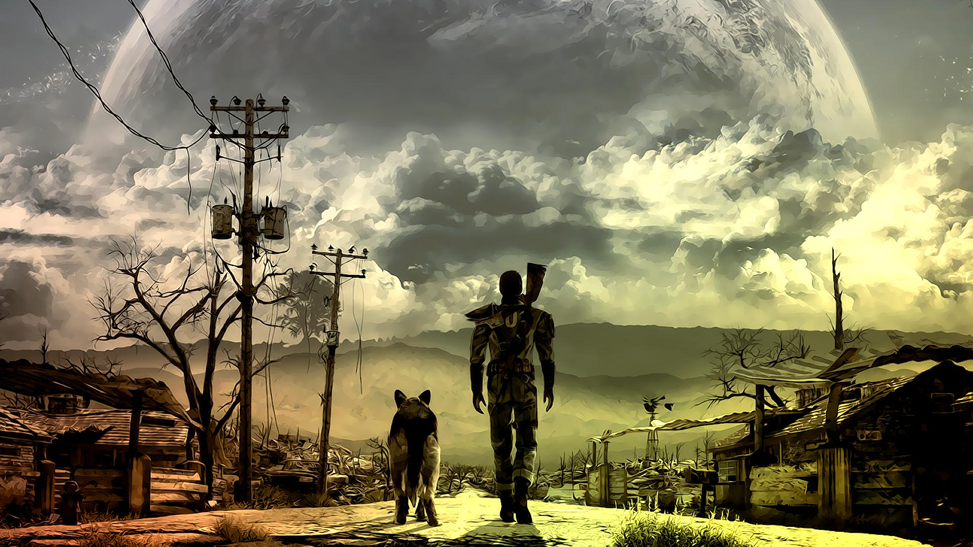 Fallout 4 + Random на Топовые Игры