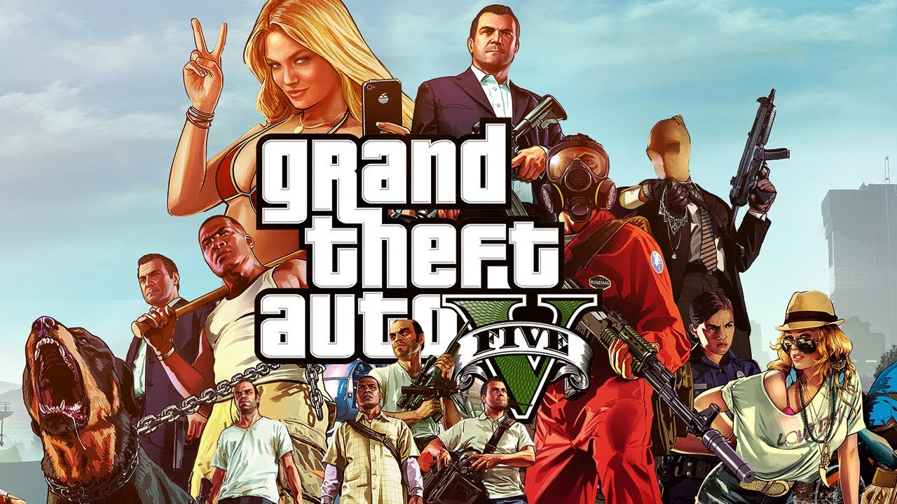 Grand Theft Auto V 5 (GTA 5) (Rockstar key) Region free