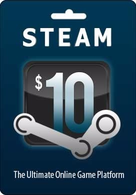 Steam Gift Card 10 USD CD-KEY GLOBAL