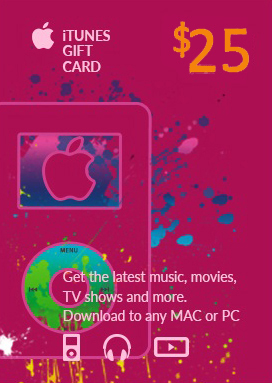 iTunes Gift Card 25$ PREPAID US