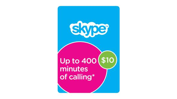10$ Skype 10 USD Prepaid Card GLOBAL ЦЕНА
