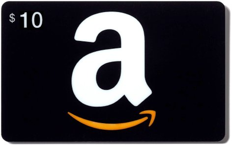Amazon 10$ Gift Card US (PHOTO of CARD) PRICE!!!