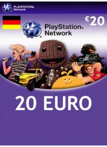 PlayStation Network 20 EUR Germany
