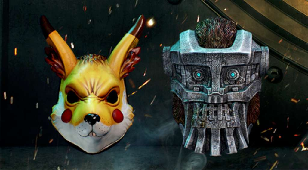 PAYDAY 2: Electarodent and Titan Masks DLC Steam Key