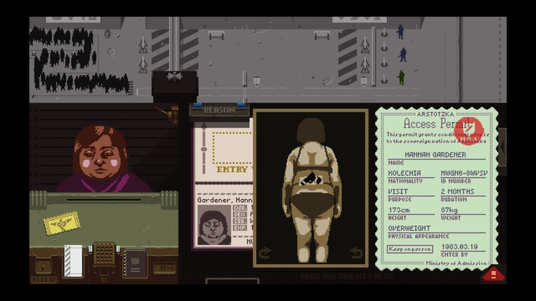 Papers, Please (Steam Gift, RU + CIS)