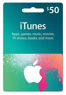 iTunes Gift Card (USA) 50$ Скидки