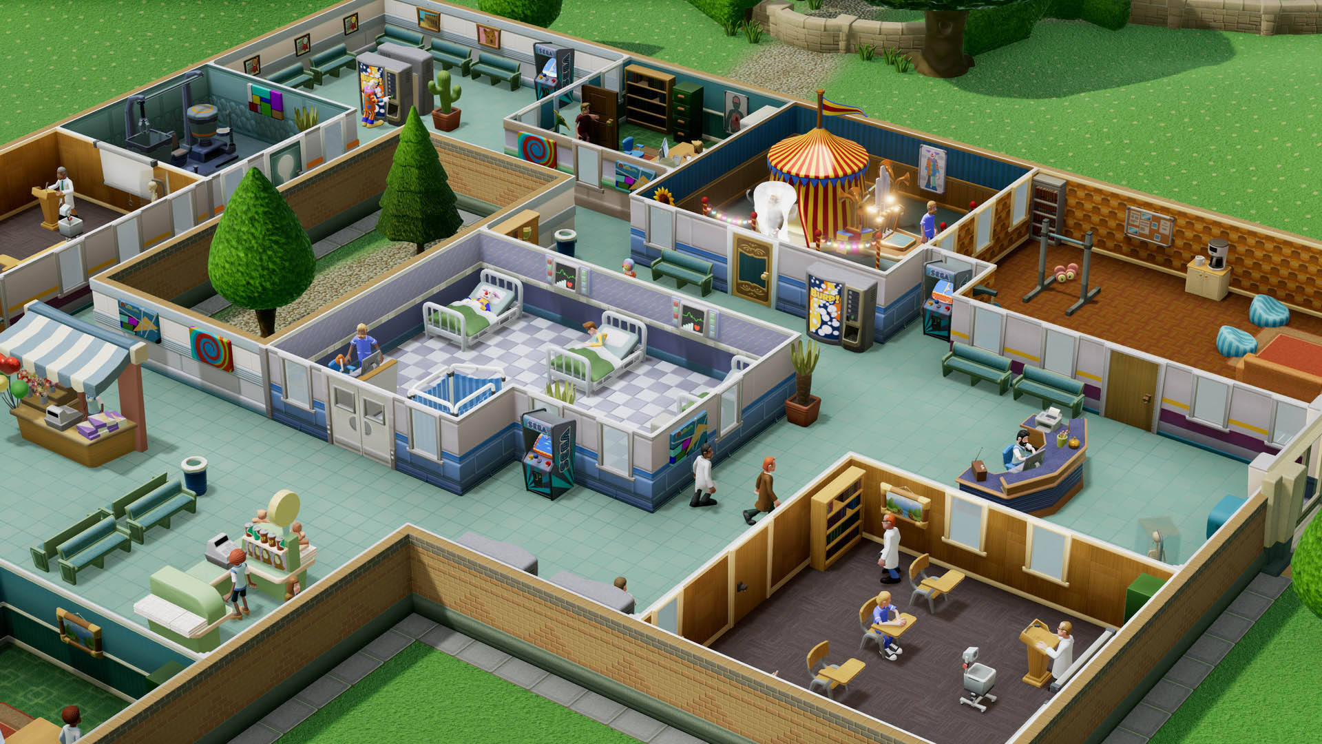 Two Point Hospital |Steam Gift| RUSSIA