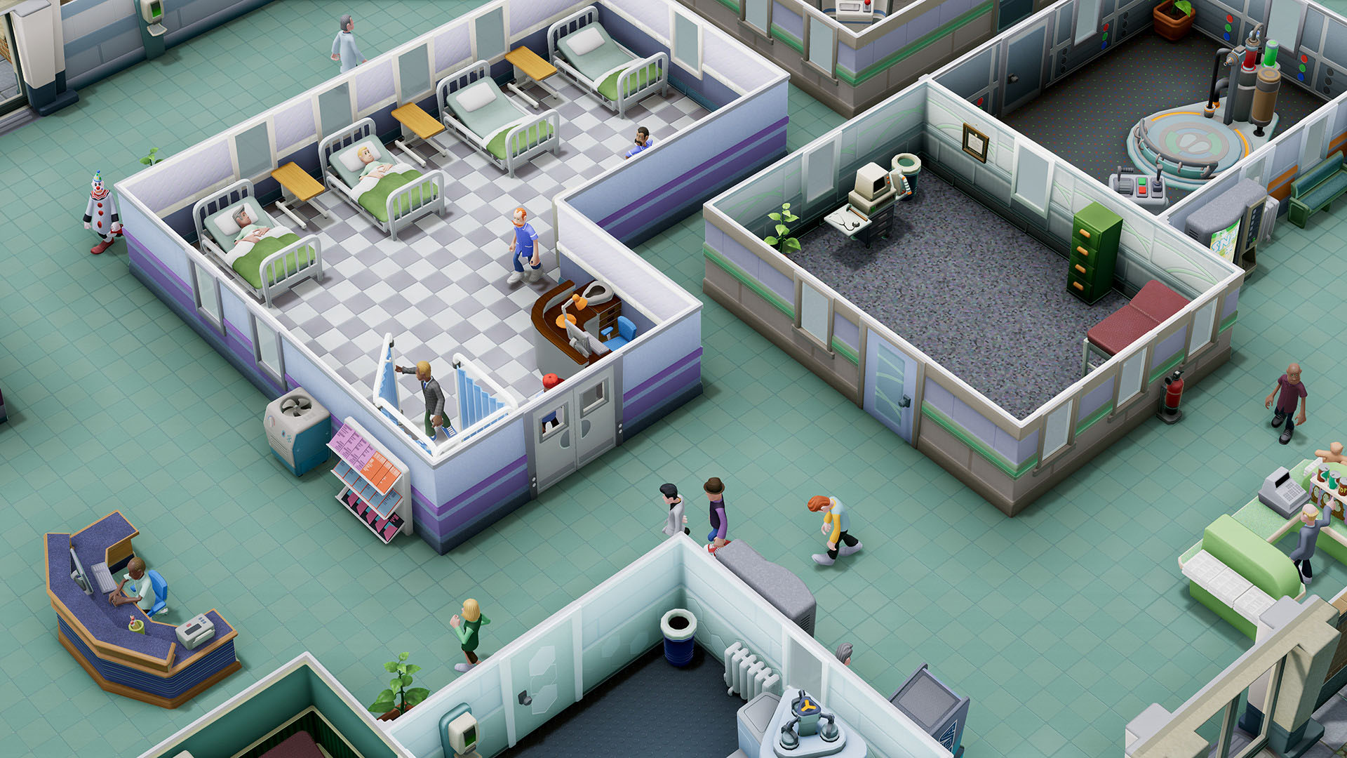 Two Point Hospital |Steam Gift| РОССИЯ