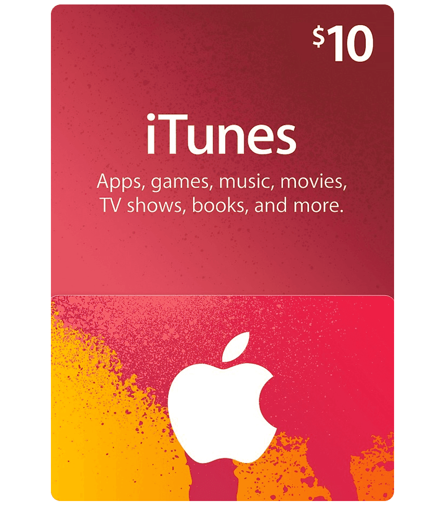 iTunes Gift Card $10 (USA) (AppStore)