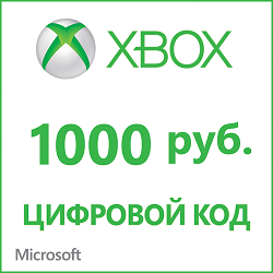 Xbox Live - payment card 1000 rubles (RUSSIA REGION)