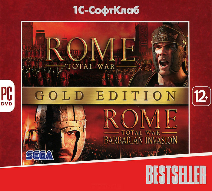 Rome: Total War. Gold Edition (Ключ Steam/Region Free)
