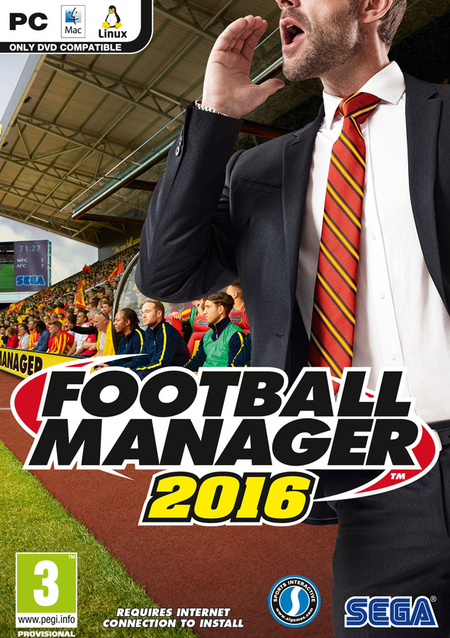 FOOTBALL MANAGER 2016 (REGION FREE / MULTILANG) key